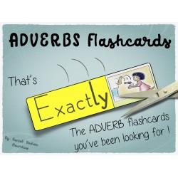 English adverbs flashcards