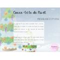 Casse-tête de Noël, préscolaire
