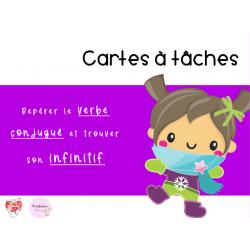 CAT - Repérer le verbe conjugué et l'infinitif