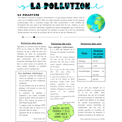 La pollution, le zéro déchet et la décroissance