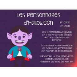 Halloween - Personnages à décrire
