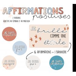 Affirmations positives - Boho