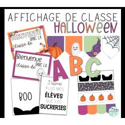Affichage Halloween - Ensemble complet