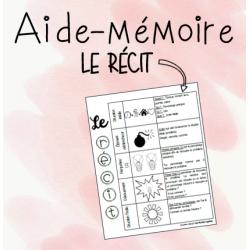 Le récit en 5 temps / Aide-mémoire