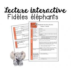 Fidèles éléphants - Lecture interactive
