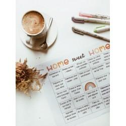 Carte mieux-être HOME SWEET HOME
