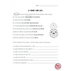 Ma grammaire cultivée: exercices groupe verbe