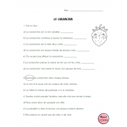 Ma grammaire cultivée: exercices conjonction