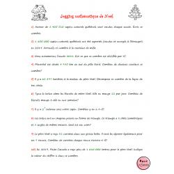 Jogging mathématique Noël