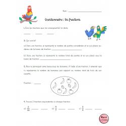 Questionnaire: les fractions