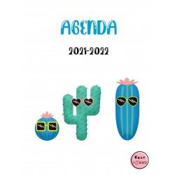 Agenda de l'élève Rose Pomme 2021-2022