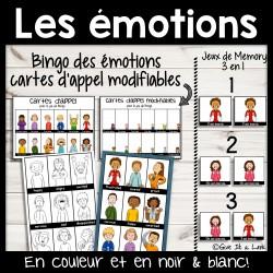 Activités sur les émotions