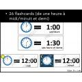 Lire l'heure à la demi-heure près