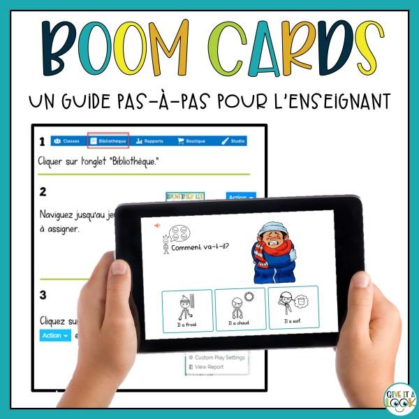 Boom Cards: guide de l'enseignant