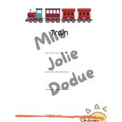 Pratique écriture Train