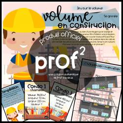 Volume en construction-5e année