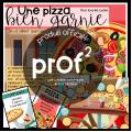 Une pizza bien garnie
