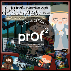 Harry Potter - La forêt interdite - 2e cycle