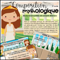 Composition mythologique-nombres décimaux