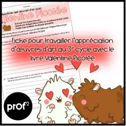 Appréciation arts- Valentine Picotée