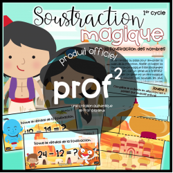 Soustraction magique-1er cycle
