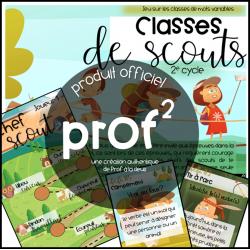 Classe de scout-2e cycle