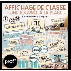 Affichage de classe-Ensemble complet
