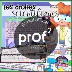 2E CYCLE- Les droites scientifiques