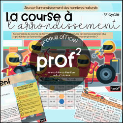 3E CYCLE-La course à l'arrondissement
