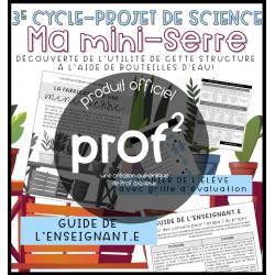 3E CYCLE-Science-Ma mini-serre
