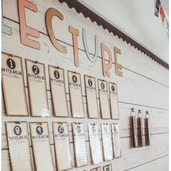 Affichage de classe lettres LECTURE