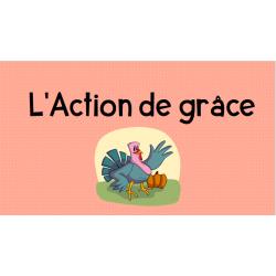 PowerPoint Action de grâce