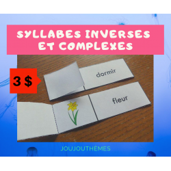 Syllabes inverses et complexes