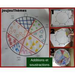 Boule de Noël - Additions et soustractions