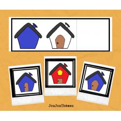 Superposition de maisons