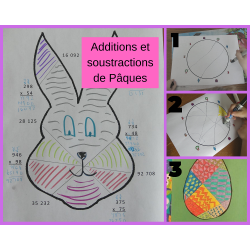 Additions et soustractions de Pâques