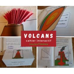 Volcans-Cahier interactif