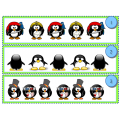 En rang les pingouins!