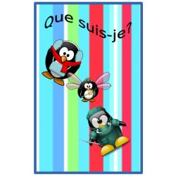 Qui suis-je?  Version pingouins