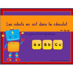 Les robots en ont dans le ciboulot!!!