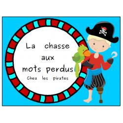 La chasse aux mots chez les pirates...