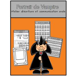 Portrait de vampire: situation d'écriture