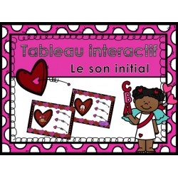 TNI TBI Son initial Saint-Valentin