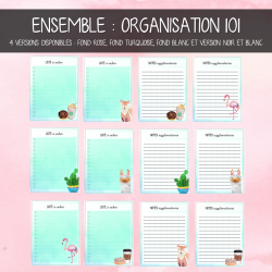 Ensemble to do list & notes