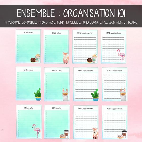 Ensemble to do list & notes
