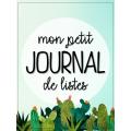 Le petit journal de listes -Cactus