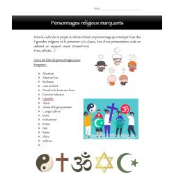 Présentation orale_ personnage religieux_ECR