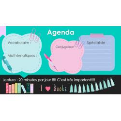 Agenda de la semaine