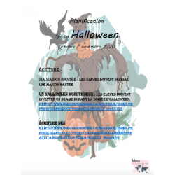 Planification spéciale Halloween