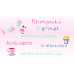 Récompenses de groupe